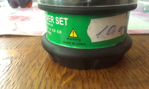 warning label made in china - 8221791232