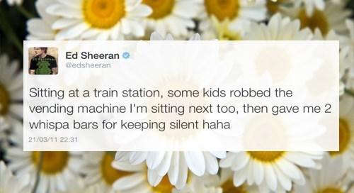 twitter,Ed Sheeran