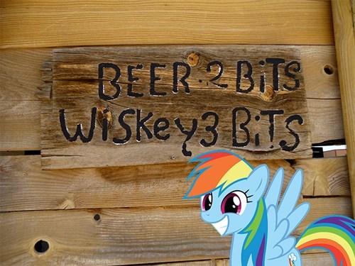 booze,rainbow dash