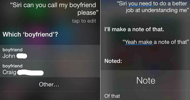 Sassy Siri