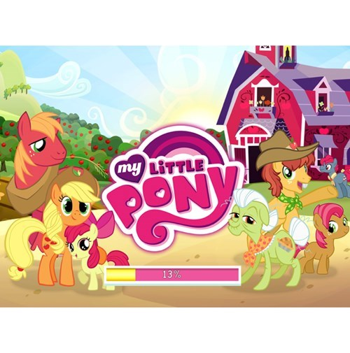 applejack Apple Family new do - 8222222848