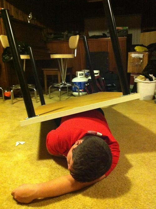 drunk funny table passed out - 8222692096