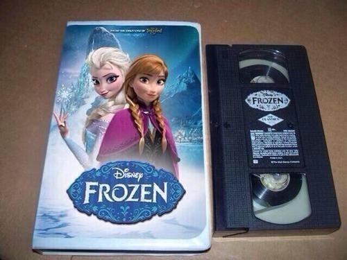 frozen wat VHS - 8222717184