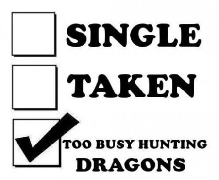 dragons funny status relationships