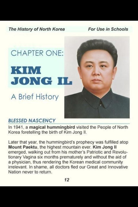 Kim Jong-Il funny North Korea