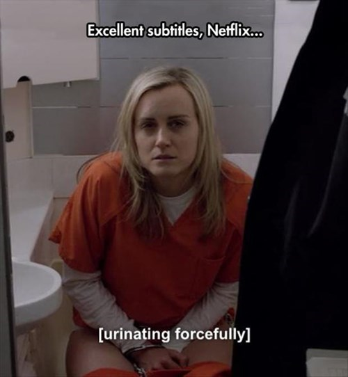 netflix TV subtitles orange is the new black - 8223942144