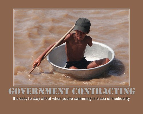 government mediocre funny contracting
