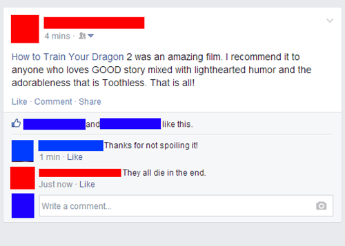 spoilers,Movie,How to train your dragon