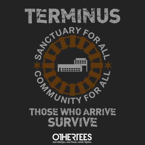 The Walking Dead tshirts terminus - 8224110848