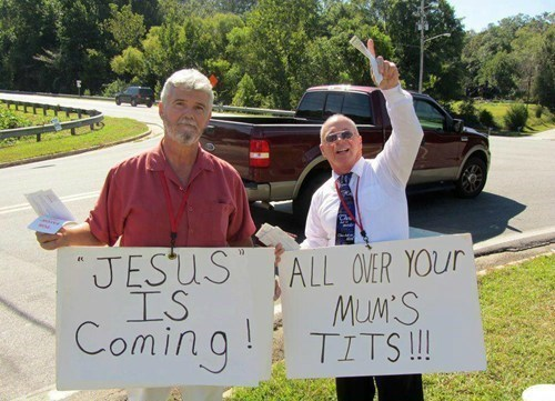 jesus jesus christ protesters - 8224346368