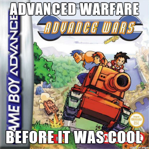 call of duty,game boy advance,advance wars,call of duty: advanced warfare