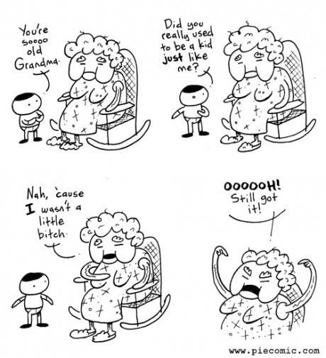 diss,kids,grandma,web comics
