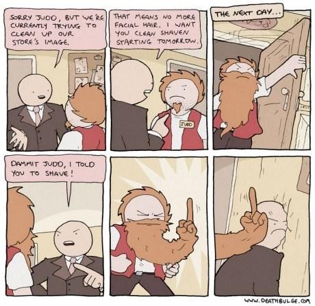 beards work sucks work web comics - 8224487168