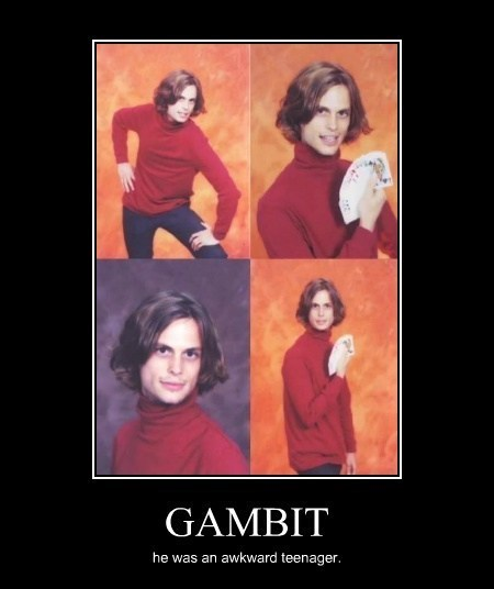 high school,funny,gambit,xmen