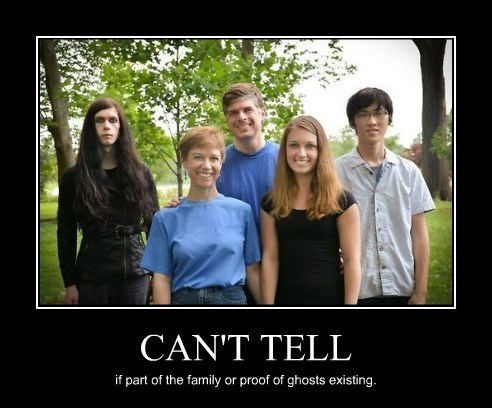 ghost family photo funny wtf