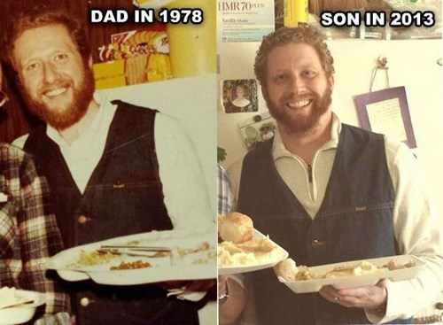 dad,parenting,resemblance,son