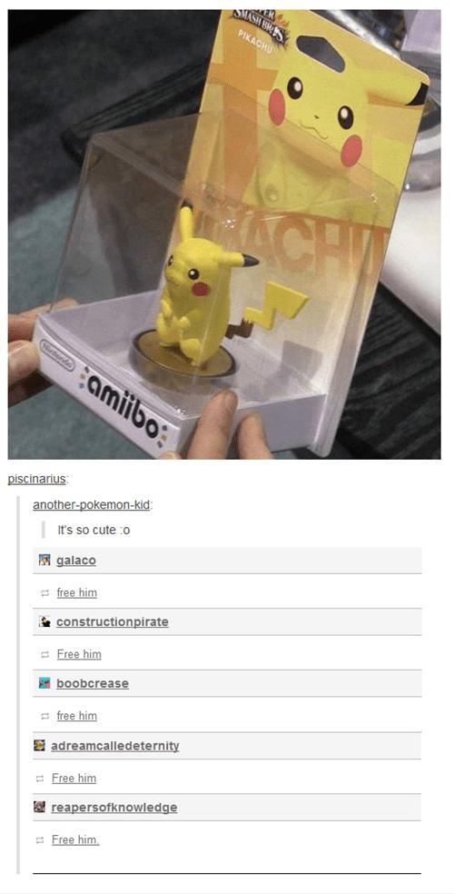 Pokémon tumblr pikachu amiibo - 8224698624