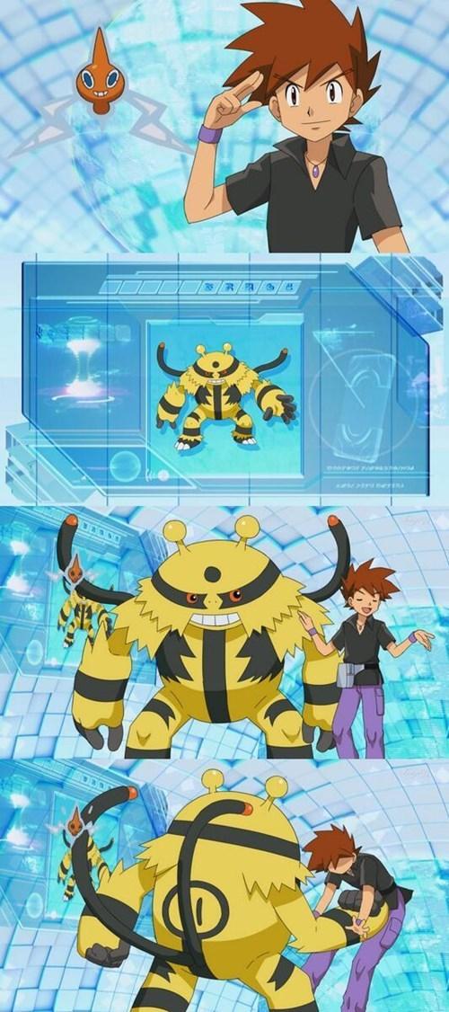 anime gary oak Pokémon electivire - 8224705280
