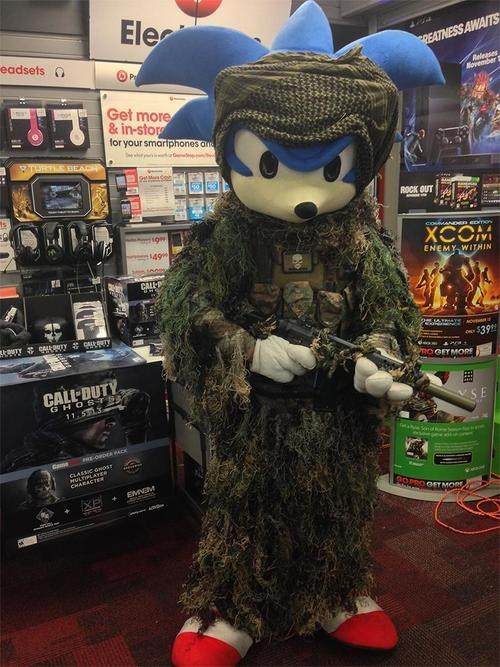 call of duty sonic the hedgehog sonic - 8224738304