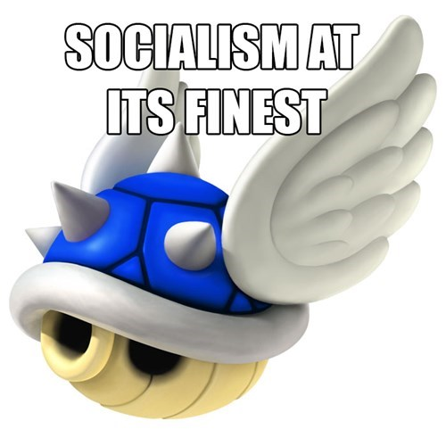 blue shell Mario Kart socialism mario kart 8 - 8224755712