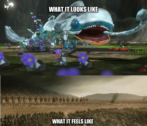 nintendo video game logic pikmin 3 - 8224757248