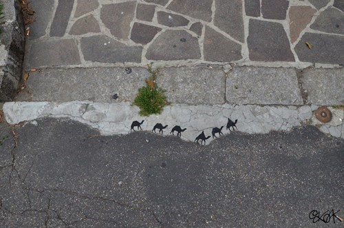 graffiti Street Art hacked irl - 8224844288