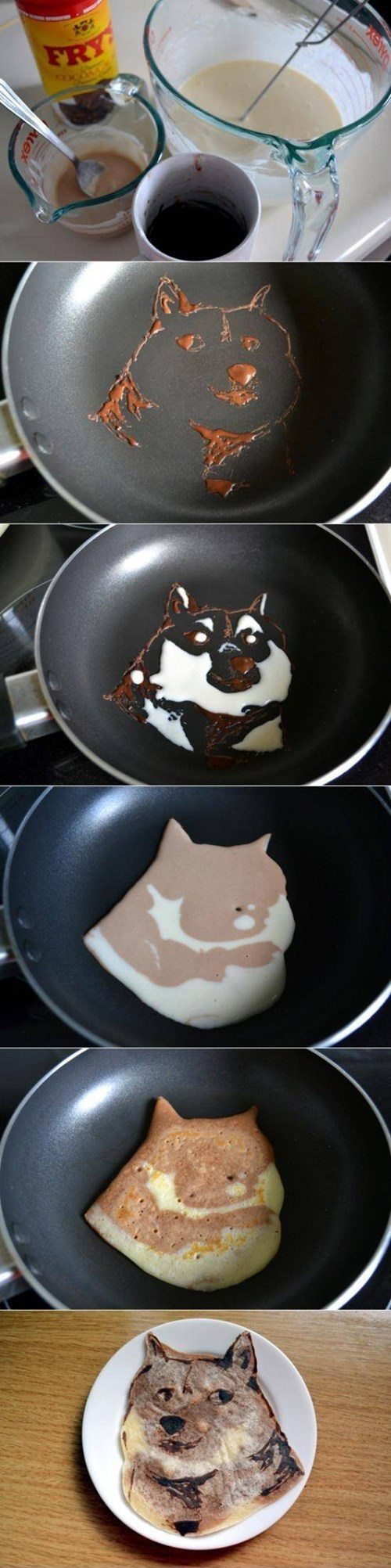 breakfast pancakes doge g rated win - 8224857344