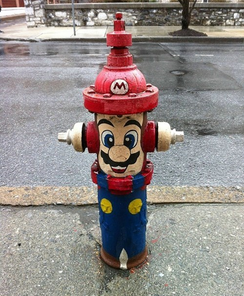 mario video games hacked irl - 8224872960