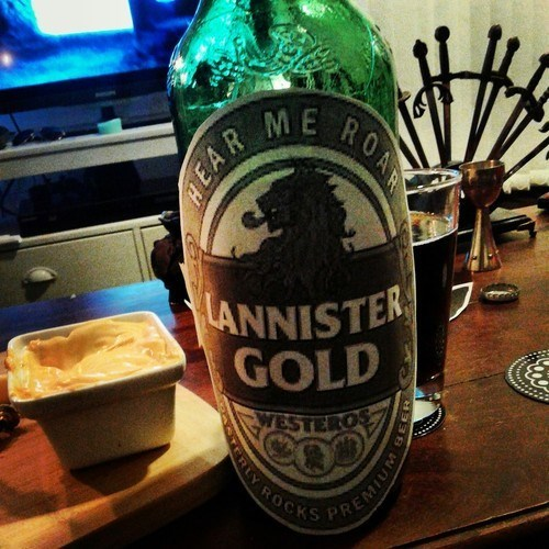 beer Game of Thrones funny Lannisters - 8224927488