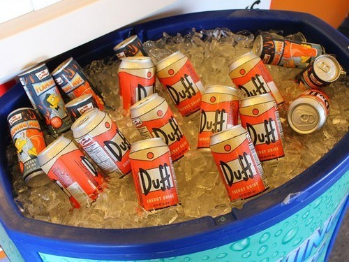 beer duff funny the simpsons - 8224931328