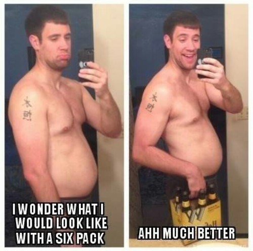 beer funny six pack selfie after 12 g rated - 8224941568
