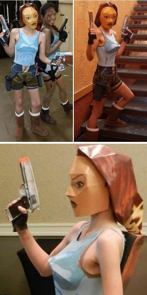 cosplay dorkly lara croft Tomb Raider - 8225491456