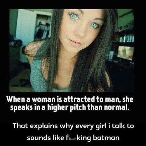 batman deep voice voice women