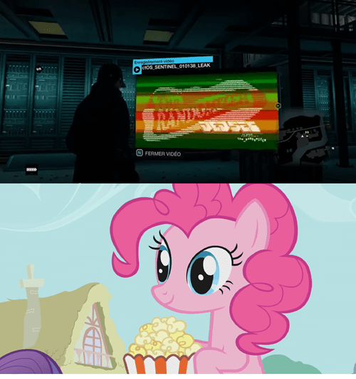 pinkie pie,watch dogs