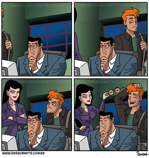 Clark Kent sleeping on the job superman - 8225699328