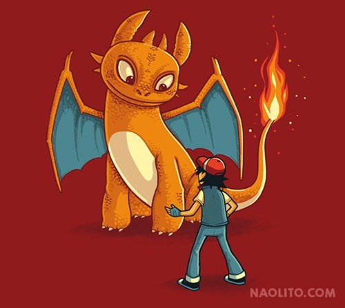 tshirts for sale How to train your dragon pokemon trainer - 8225746432