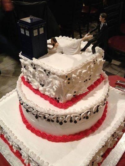 tardis cake toppers weddings - 8225772544