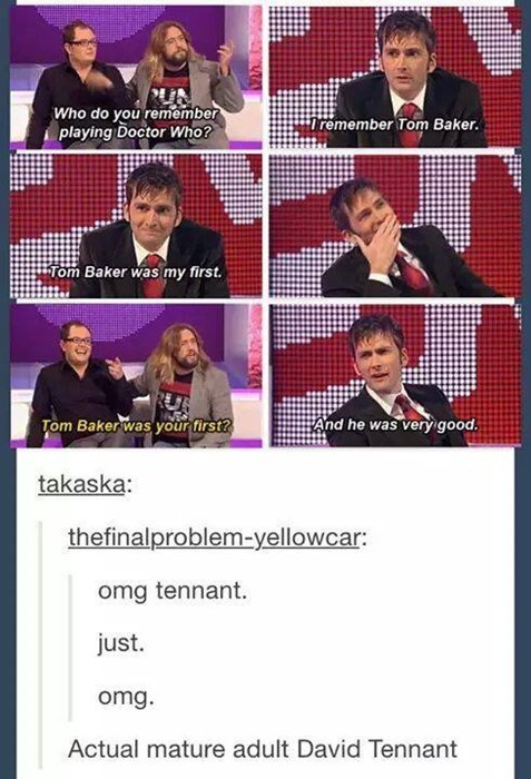 classic who David Tennant first time - 8225784320