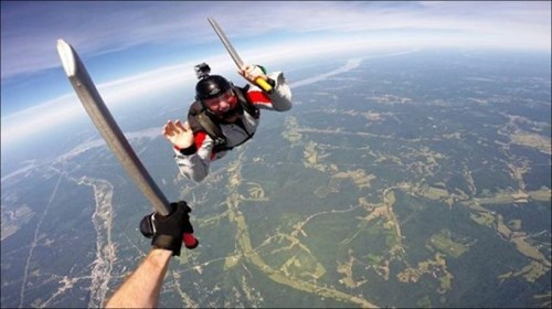 skydiving,BAMF,whee,g rated,win