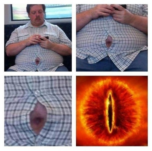 sauron shirt beer belly g rated fail nation - 8225813248