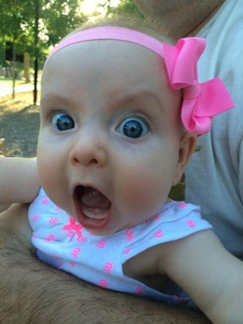 baby expression parenting reaction - 8225856256