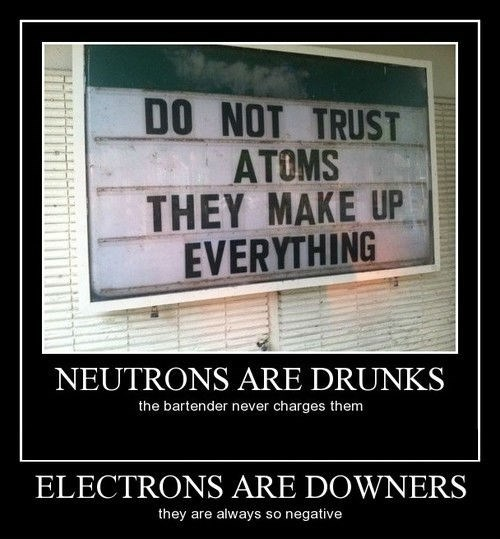 atoms,quark,funny,sign,particles