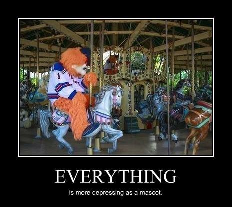 depressing funny mascot - 8226097920