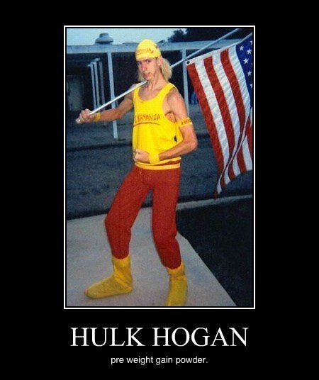 funny,Hulk Hogan,weight gain powder