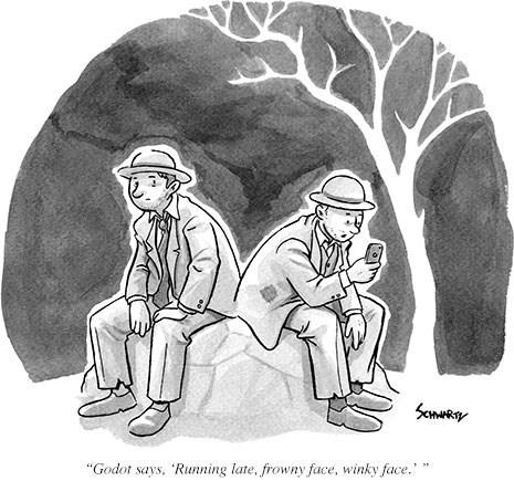 godot puns texting web comics - 8226698496