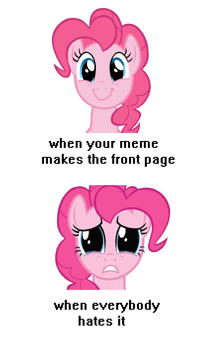 front page friendship pinkie pie user submission - 8226788608