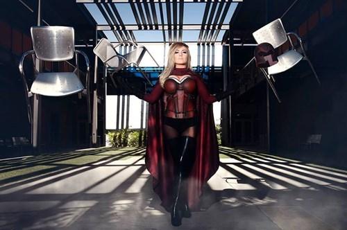 cosplay Magneto jessica nigri - 8226802944