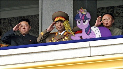 twilight sparkle North Korea