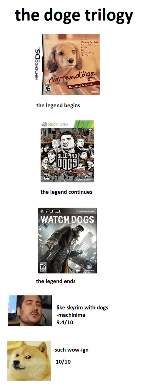 dogs,trilogy,doge,lel
