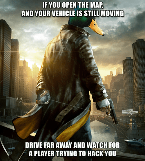 Actual Advice Mallard,Memes,Watch_dogs